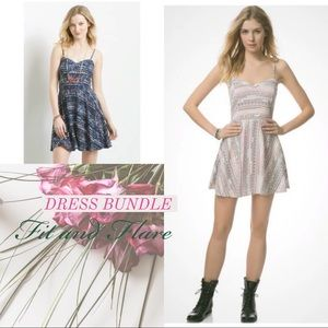 Dresses & Skirts - Fit and Flare Dress Bundle SZ X-Small